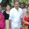 Abhinetri Film Launch Stills