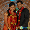 Vishwas n Spoorthi Wedding Reception Stills