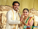 Santosh Pavan Wedding Reception Gallery