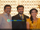 Sshivada Nair – Murali Krishnan Wedding reception photos