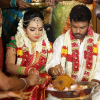 Pandiarajan Son Prithvi Rajan Marriage Stills