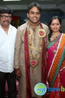 Singer Malavika Wedding Reception Gallery (1)