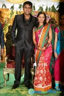 Singer Malavika Wedding Reception Gallery (13)