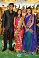 Singer Malavika Wedding Reception Gallery (16)