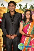 Singer Malavika Wedding Reception Gallery (17)