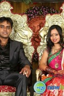 Singer Malavika and Krishna Chaitanya Wedding Reception
