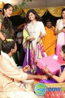 Singer Malavika Wedding Reception Gallery (19)