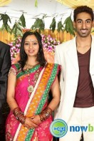 Singer Malavika Wedding Reception Gallery (21)