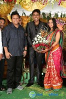 Singer Malavika Wedding Reception Gallery (22)