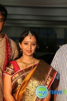 Singer Malavika Wedding Reception Gallery (4)