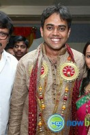 Singer Malavika Wedding Reception Gallery (5)