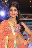 Shriya Saran Ramp Walk at Passionate Foundation Fashion Show (1)