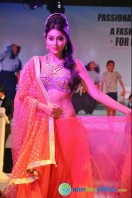 Shriya Saran Ramp Walk at Passionate Foundation Fashion Show (11)