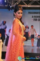 Shriya Saran Ramp Walk at Passionate Foundation Fashion Show (16)