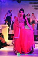 Shriya Saran Ramp Walk at Passionate Foundation Fashion Show (22)