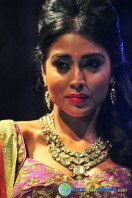 Shriya Saran Ramp Walk at Passionate Foundation Fashion Show (29)
