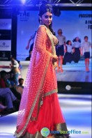 Shriya Saran Ramp Walk at Passionate Foundation Fashion Show (37)