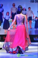 Shriya Saran Ramp Walk at Passionate Foundation Fashion Show (38)