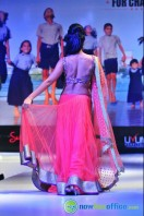 Shriya Saran Ramp Walk at Passionate Foundation Fashion Show (39)