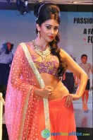 Shriya Saran Ramp Walk at Passionate Foundation Fashion Show (4)