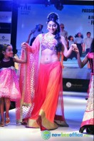 Shriya Saran Ramp Walk at Passionate Foundation Fashion Show (40)