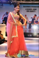 Shriya Saran Ramp Walk at Passionate Foundation Fashion Show (5)