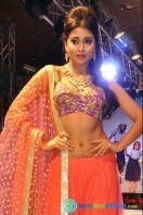 Shriya Saran Ramp Walk at Passionate Foundation Fashion Show (8)