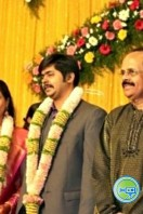 Crazy Mohan Son Marriage Reception Photos
