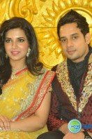 Actor Bharath-Jeshly wedding reception (2)