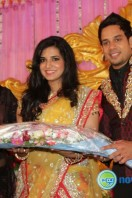 Actor bharath marriage rception pics (2)