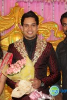 Actor bharath marriage rception pics (3)