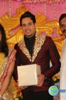Actor bharath marriage rception pics (4)