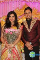 Bharath-Jeshly wedding reception images
