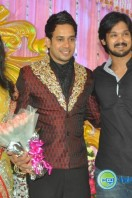 Bharath actor marriage reception (2)