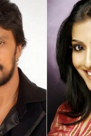Varalaxmi Sarathkumar and Sudeep to star in Mirchi Remake