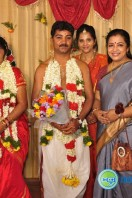 PRO V P Mani Daughter Wedding Reception Stills