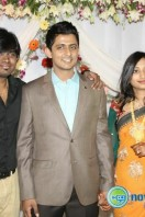 Singer Dinakar Wedding Reception Stills