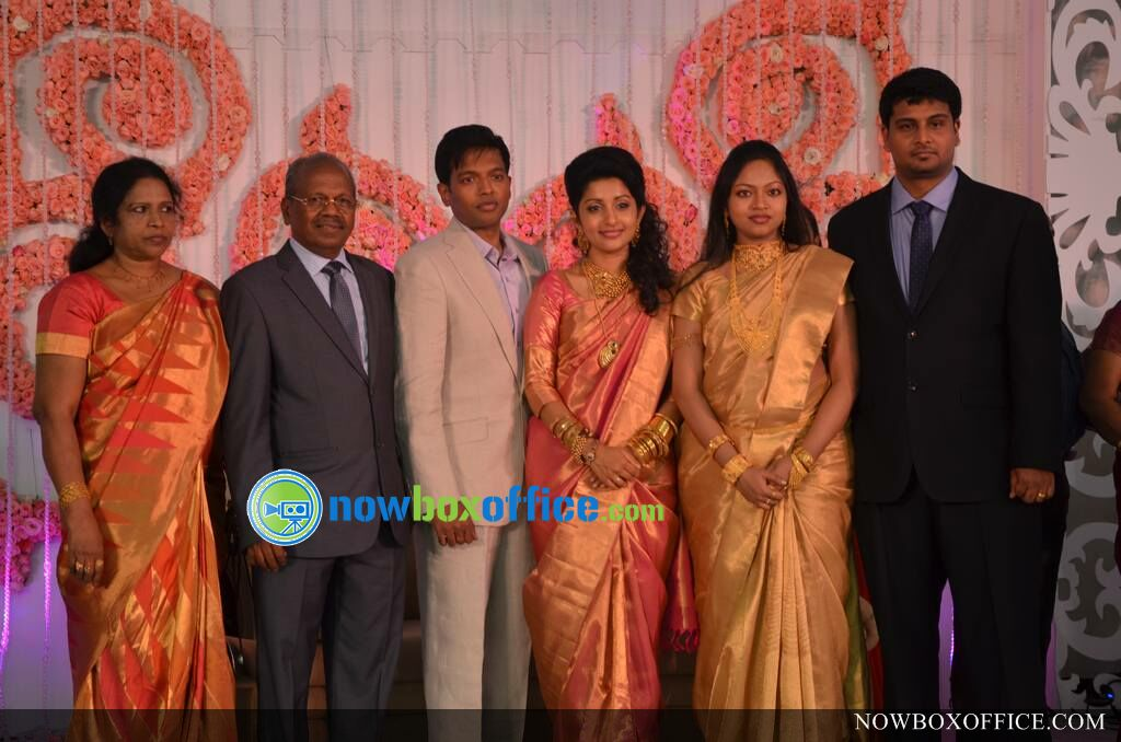 Meera Jasmine wedding reception photos » Meera Jasmine reception ...