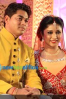 TV Serial actress Archana suseelan marriage reception photos