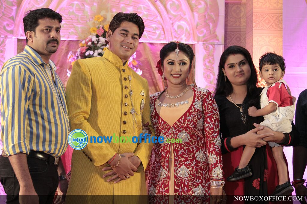 tv serial actress archana suseelan marriage reception