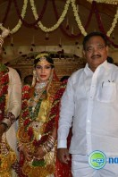 Sabitha Indra Reddy Son Marriage Stills