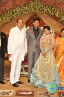 Dil Raju Daughter Marriage Reception Stills (15)