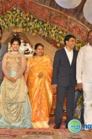 Dil Raju Daughter Marriage Reception Stills (18)