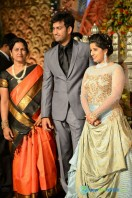 Dil Raju Daughter Marriage Reception Stills (24)