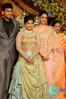 Dil Raju Daughter Marriage Reception Stills (42)