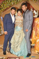 Dil Raju Daughter Marriage Reception Stills (9)