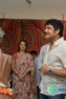 Nagarjuna Family at Sai Baba Temple (12)