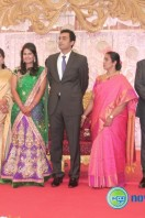 Arun Pandian Daughter Marriage Reception Stills (16)