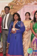 Arun Pandian Daughter Marriage Reception Stills (24)
