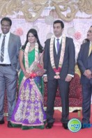 Arun Pandian Daughter Marriage Reception Stills (5)